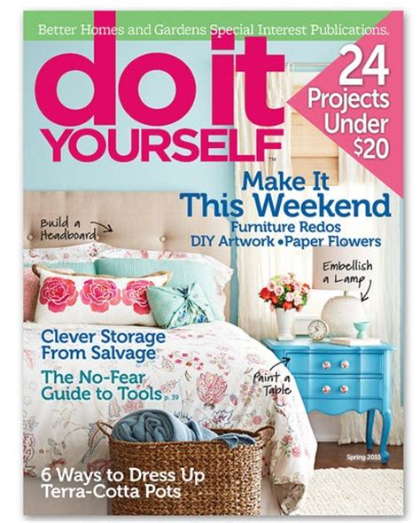 do it yourself magazine do it yourself magazine subscription 9 99 2 years saving with shellie