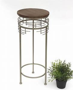Blumenständer Metall Modern : blumenhocker metall 21288 m blumenst nder 68 cm rund beistelltisch modern dandibo ~ Yasmunasinghe.com Haus und Dekorationen