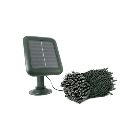 10 metre 100x blue led solar usb powered outdoor indoor
