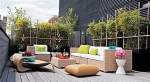 decoration terrasse ville deco sphair With amenager une entree exterieure de maison 14 deco terrasse ethnique deco sphair