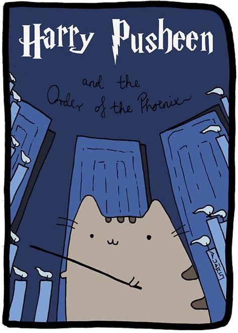harry potter et la chambre des secrets en quand pusheen the cat s 39 incruste chez harry potter buzzinbox