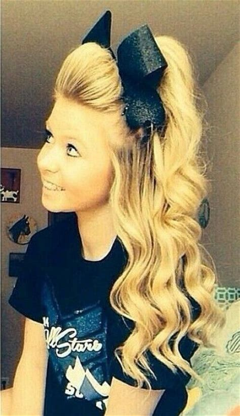 the 25 best cute cheer hairstyles ideas on pinterest