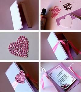 Valentinstag Geschenke Selber Machen : valentinstag karte selber machen freshouse ~ Eleganceandgraceweddings.com Haus und Dekorationen