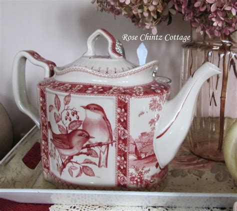 rose chintz cottage tea time tuesday