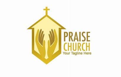 Church Praise Logos Worship Cross