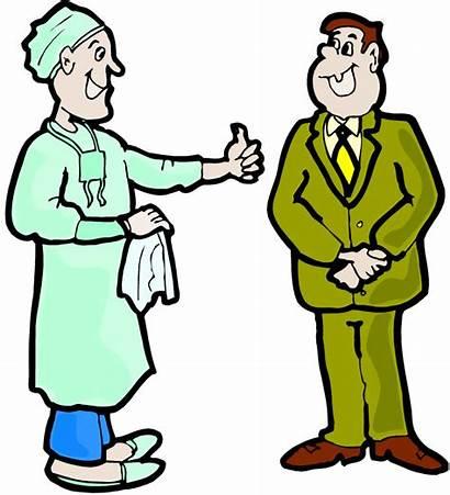 Patient Clipart Hospital Clip Discharge Doctor Patients