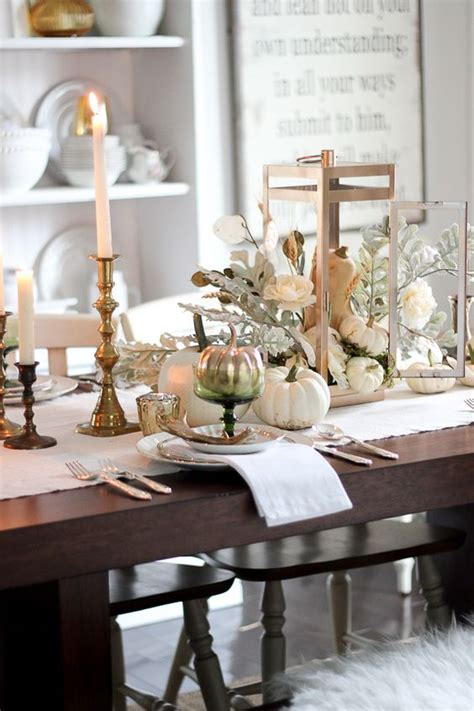 cozy  inviting fall table decor ideas digsdigs