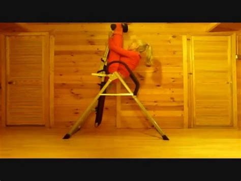 table that turns you upside down how to hang upsidedown on a door bar videolike