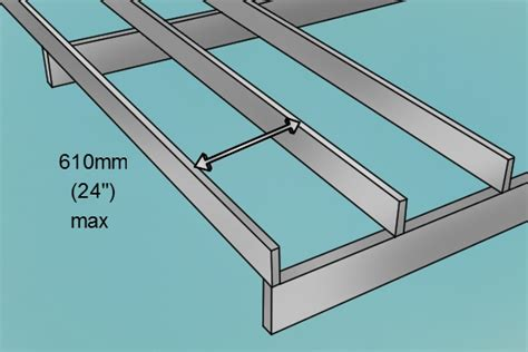 Distance Between Floor Joists Australia by How To Lay A Decking Block Base