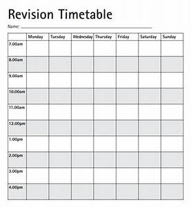 8 free timetable templates excel pdf formats for Timetable outline template