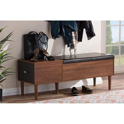 Bench Cabinet Storage by Entryway Storage Bench Shoe Cabinet Merrick Rc Willey