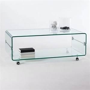 Table Basse Sur Roulette : table basse a roulettes design ~ Melissatoandfro.com Idées de Décoration