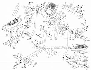Nordictrack 238550 Parts List And Diagram