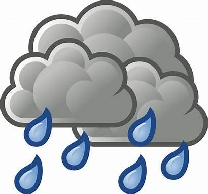 Transparent Cloudy Clipart Rain Rainy Heavy Webstockreview
