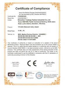 Certificate of Compliance Form