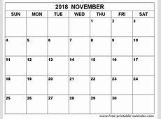 november 2018 printable calendar 2018 calendar with holidays