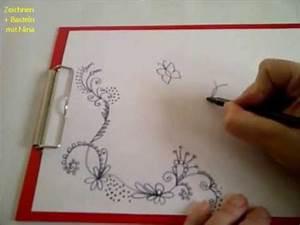 Schöne Muster Zum Selber Malen : zeichnen lernen f r anf nger sch ne verzierungsmuster f r eine karte ostergr karte ~ Orissabook.com Haus und Dekorationen