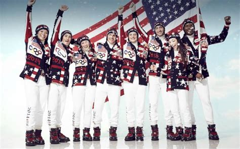 Team USA Unveils Opening Ceremony Uniforms for the 2014 Sochi Olympic Games (Photos) | Total Pro ...