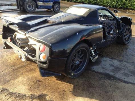 Cheap (crashed) Pagani Zonda Roadster