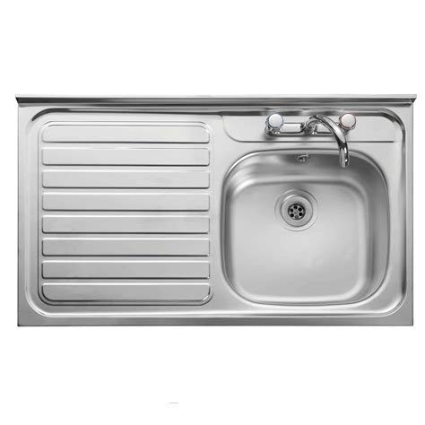 kitchen taps and sinks leisure contract lc106 stainless steel sink kitchen 6229