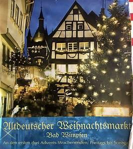 Heilbronn Weihnachtsmarkt 2018 : altdeutscher weihnachtsmarkt in bad wimpfen richtig sch n ~ Watch28wear.com Haus und Dekorationen