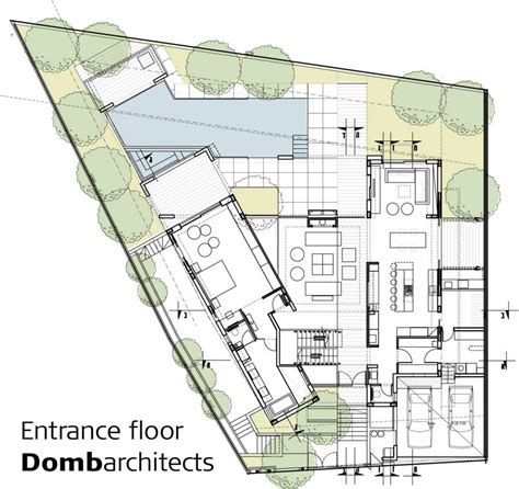 architectural design plans dg house domb architects architecture architectural
