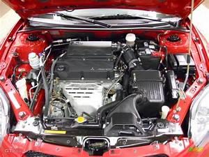 2007 Mitsubishi Eclipse Gs Coupe 2 4 Liter Dohc 16