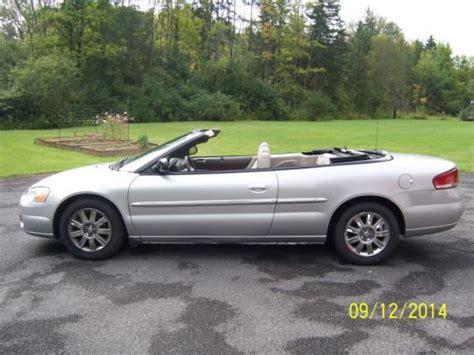 04 Chrysler Sebring by Purchase Used 04 Chrysler Sebring Convertible 57k