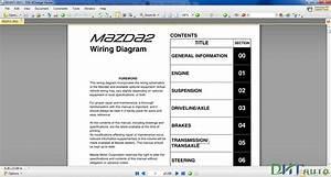 Mazda 2 2012 Wiring Diagram