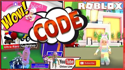 Roblox game, adopt me, is enjoyed by a community of over 30 million players across the world. Loud Warning! 😱 Adopt Me! 1 Code! Getting the Millionaire ...