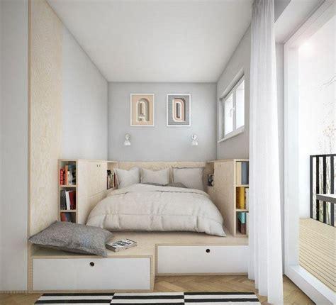 agencement chambre à coucher aménagement chambre utilisation optimale de l