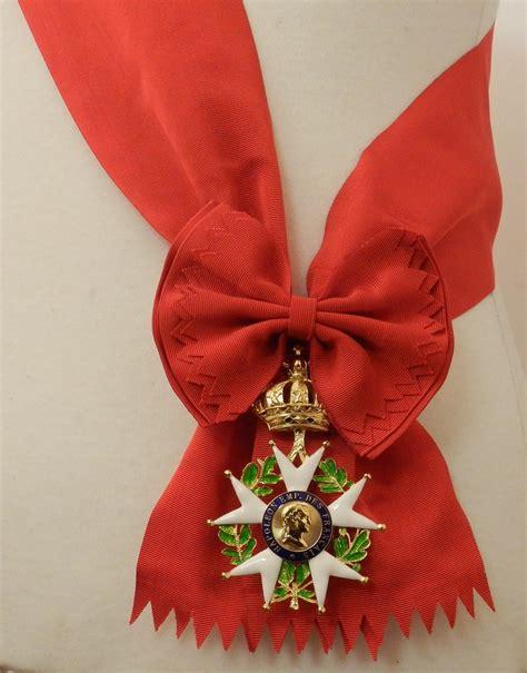 empirecostume l 233 gion d honneur grand cordon avec bijou