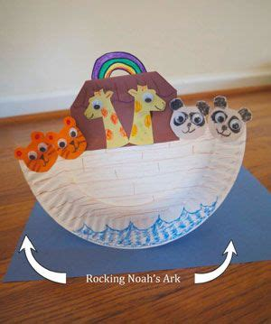 Kids Noah's Ark Craft  Kids  Recycled Materials In 2018