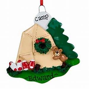 Camping Personalized Christmas Ornament FindGift