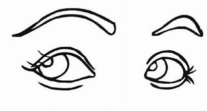 Coloring Eye Pages Eyes Cartoon Printable Sheets