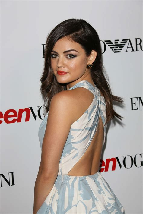 LUCY HALE at 10th Annual Teen Vogue Young Hollywood Party ...