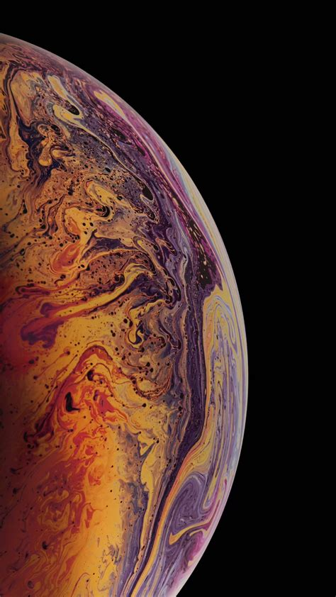 Iphone Xs Wallpaper 4k by Wallpaper Iphone Xs Gold 4k Os 20372