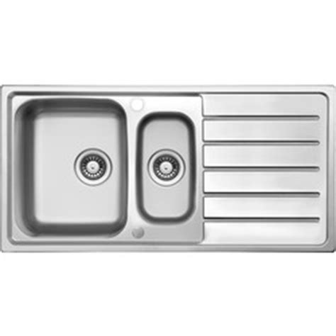 kitchen sinks bowl and drainer stainless steel 1 1 2 bowl kitchen sink drainer 1000 x 9589