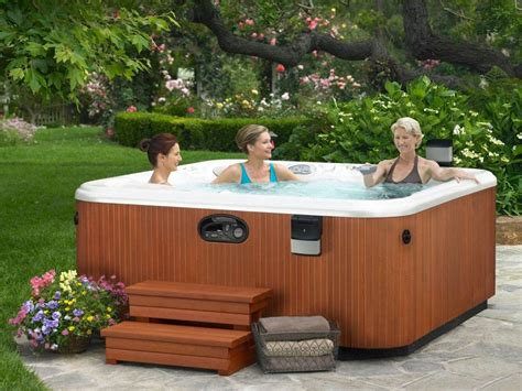 pictures of outdoor spas the benefit of saline hot tubs for your maximum hydrotherapy