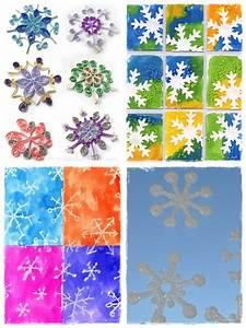 Flocon De Neige En Papier Facile Maternelle : 28 bricolages d 39 hiver pour les vacances la cour des petits ~ Melissatoandfro.com Idées de Décoration