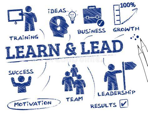 learn  lead concept stock illustration illustration