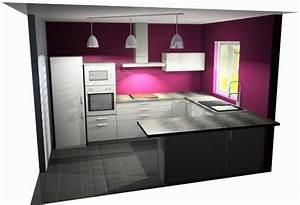 Cuisine Tout équipée Pas Cher : cuisine en l pas cher cuisine en image ~ Dailycaller-alerts.com Idées de Décoration