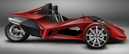 Trex 3 Wheeler Concept For 2008 By Johnathan Cote Tuvie