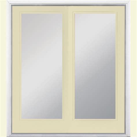 masonite patio doors image masonite 72 in x 80 in golden haystack prehung right