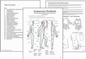 Atlas Of Acupuncture Points With Formulas