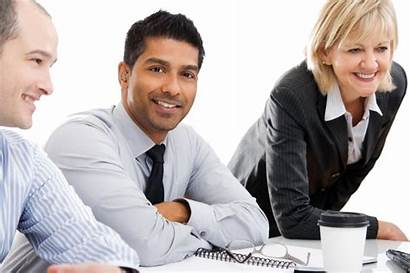 Transparent Business Working Team Background Hearing Laptop