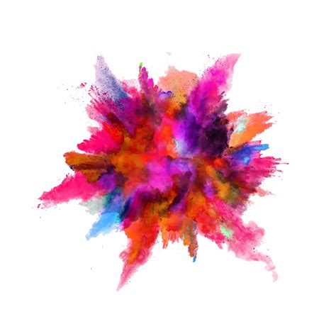 explosion of colors color powder explosion png image purepng free