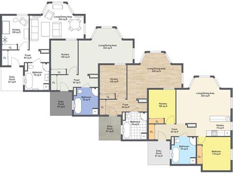 Floor Plans Customize  Floor Plans Roomsketcher