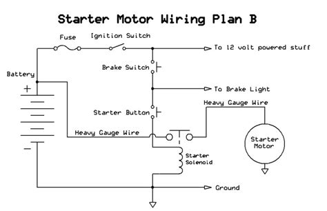 Ignition Starter Switch Wiring Diagram by Starter Button Switch And Remote Start Issue