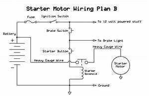 How To Wire A Push Button Starter